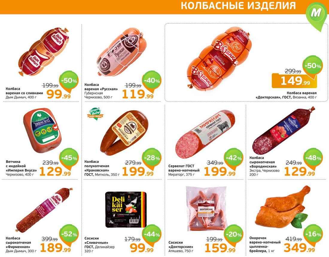 Каталог акций магазинов Монетка
